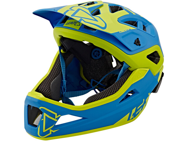 Leatt DBX 3.0 Enduro Helmet Blue/Lime